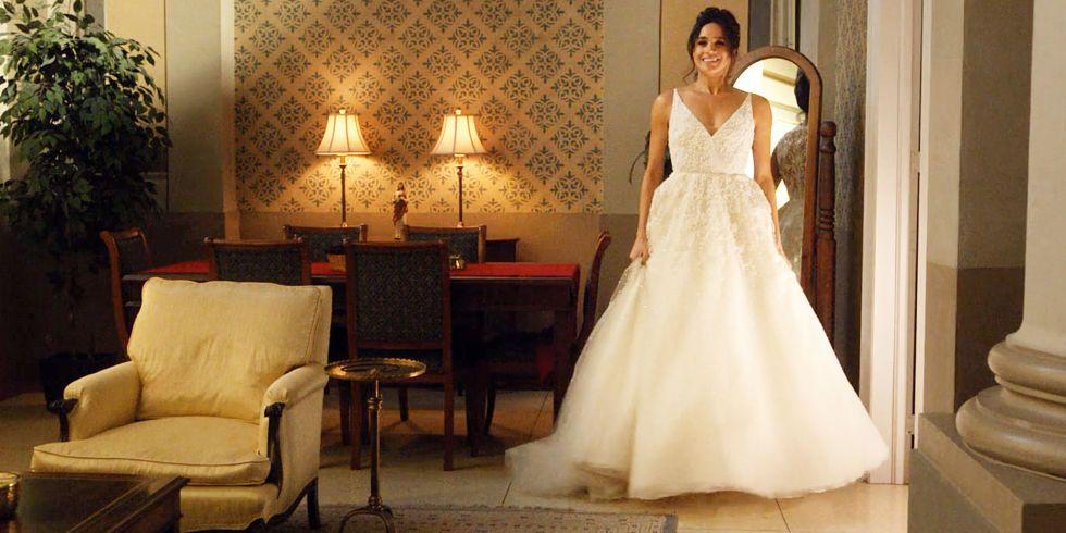Segundo vestido de novia de megan