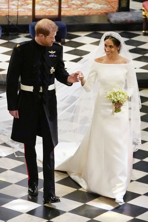 Meghan Markle S Royal Wedding Dress Compared To Princess Angela Of Liechtenstein S,Long Dress To Wear To A Wedding