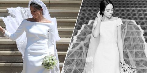 Meghan Markle Wedding Dress Replicas Are Here - Copycat Royal ... 0a20c3716