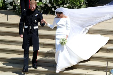 10 things you missed about meghan markle s two wedding dresses meghan markle s two wedding dresses