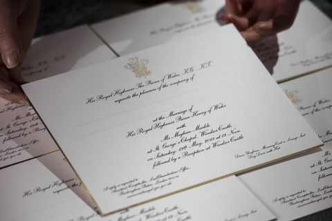 why meghan markle s wedding invitations didn t have her real name