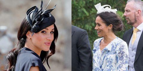 ebb482e1a2c6 Meghan Markle s Summer Wedding Looks - Comparing Meghan Markle s ...