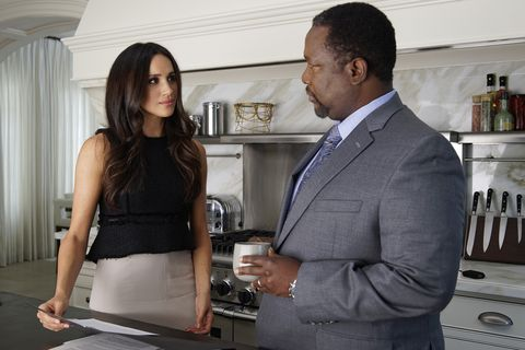 Wendell Pierce and Meghan Marklein Suits