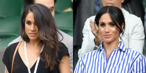 2bf67f9900f Meghan Markle s Wimbledon Style Compared - Before   After Meghan ...