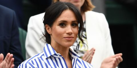 780a9167 Meghan Markle Wore Ralph Lauren Shirt to Wimbledon 2018 as Sweet Tribute to  Prince Harry