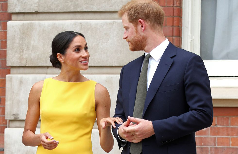 Duchess of Sussex - Meghan Markle in yellow dress