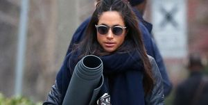 Meghan Markle spotted going to yoga in Toronto