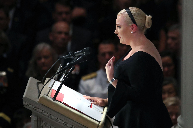 Meghan McCain's Eulogy for Her Father John McCain - Full