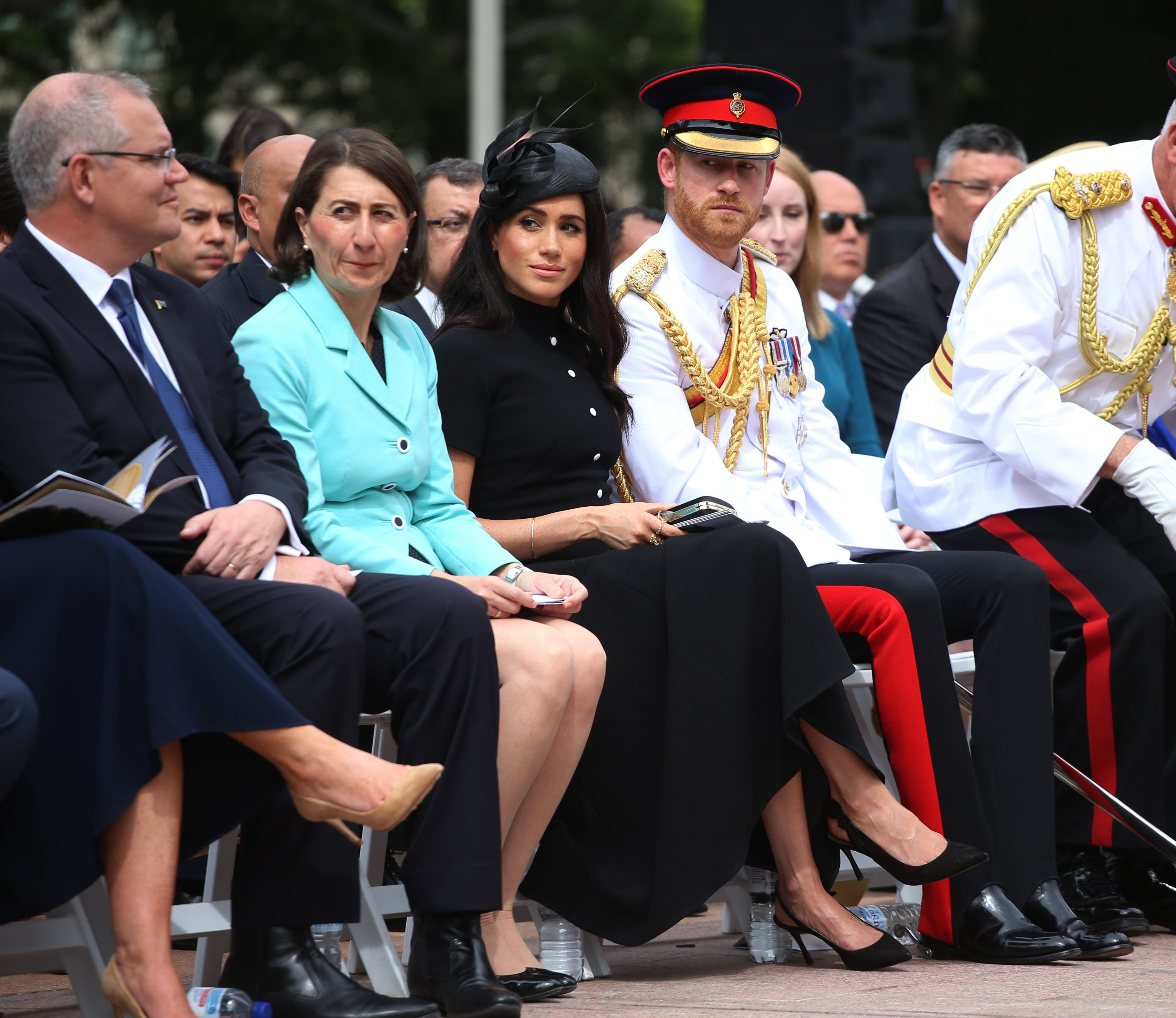 Royal fans think Prince Harry looks just like Prince Philip on Australian tour