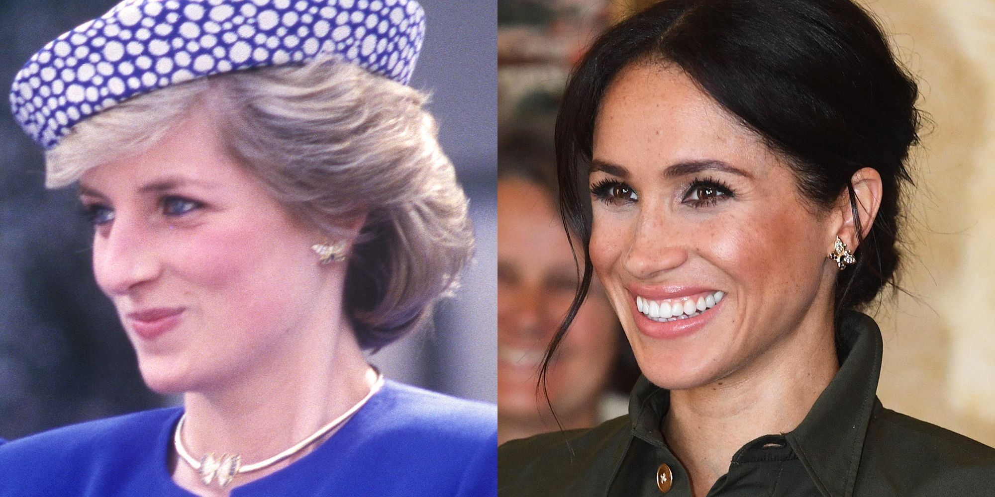 The Duchess of Sussex has brought back quite a few pieces from Princess Diana's collection.