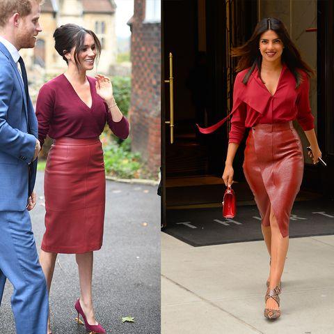 celebrities who dressed exactly like royals   meghan markle and priyanka chopra