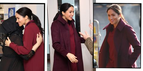 d62fb9b730 Meghan Markle Visits Grenfell Community Kitchen In The Perfect Club ...