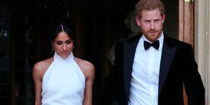 Meghan Markle second wedding dress