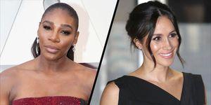 Serena Williams and Meghan