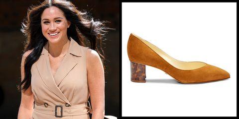 Footwear, High heels, Shoe, Tan, Brown, Beige, Court shoe, Caramel color, Fashion model, Basic pump,