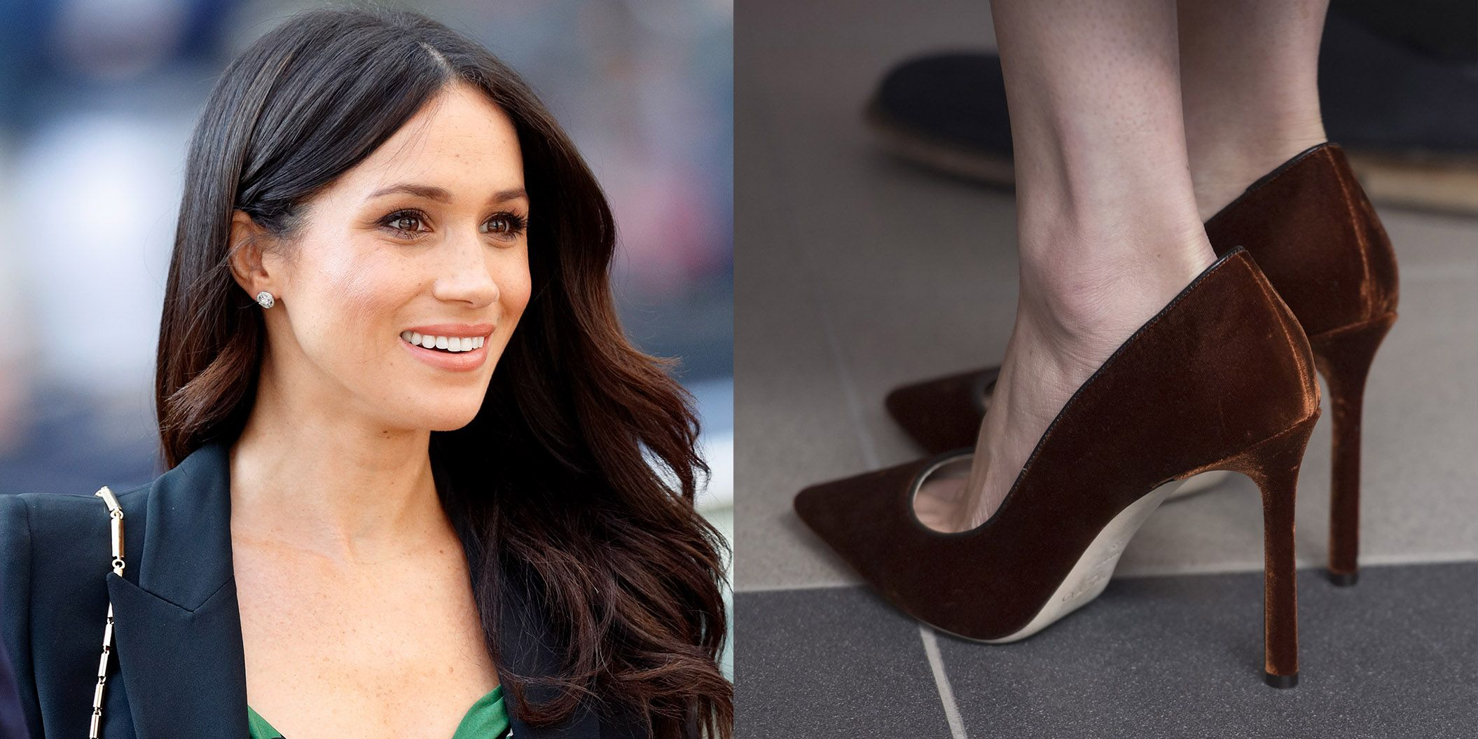 a8861bfb7b6a Meghan Markle Wears Shoes That Are Too Big for Her - Duchess of ...