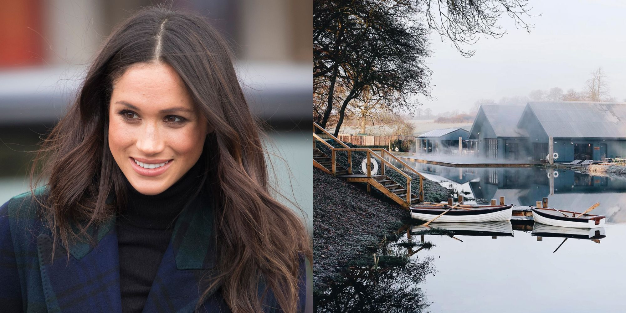 fa4badf20c54 Meghan Markle Has Bridal Shower at Soho Farmhouse - Details on Meghan s  Spa-Themed Shower