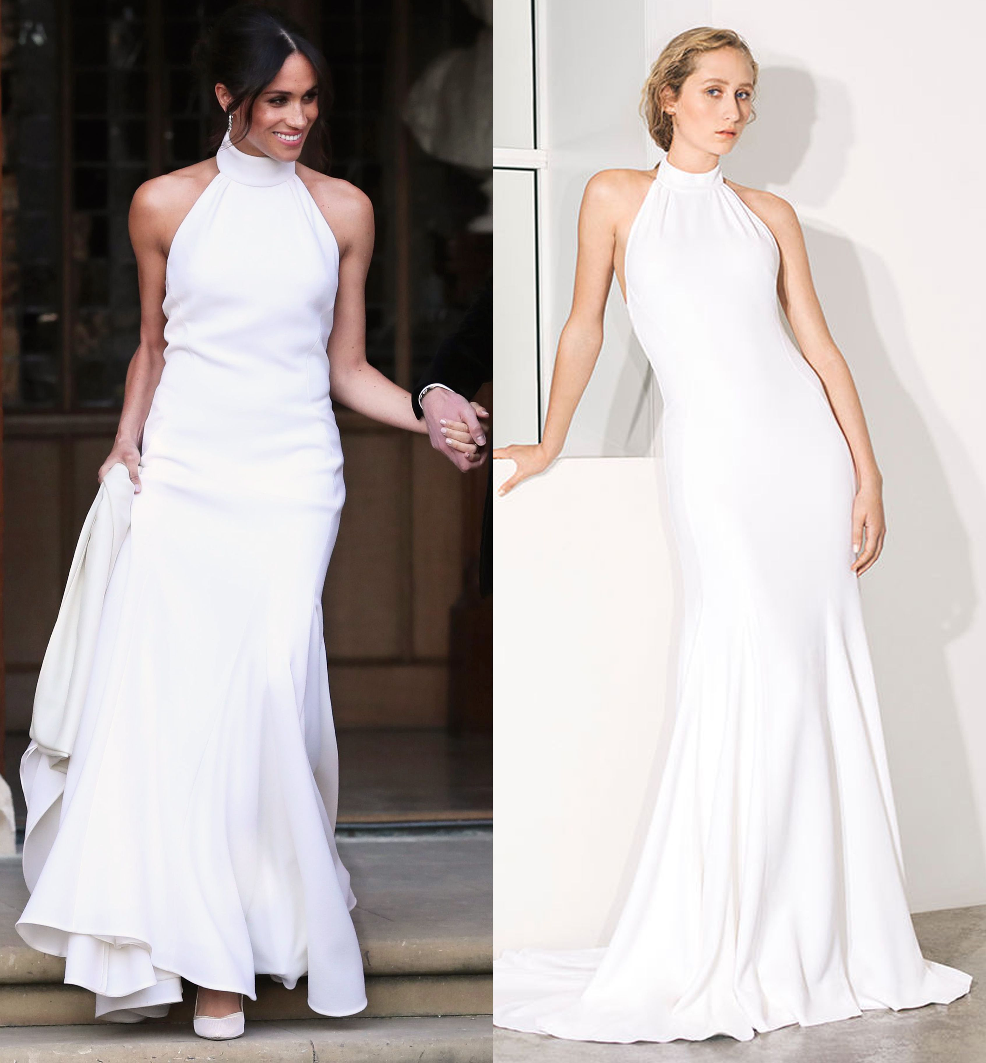 2d95e15df Stella McCartney Selling Meghan Markle s Wedding Dress in Her Debut Bridal  Collection