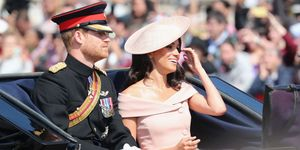 Meghan Markle Trooping the Colour outfit 2018