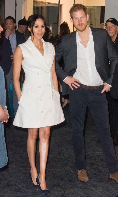 57cc2303804 The Duchess of Sussex wears a white tuxedo dress in New Zealand ...
