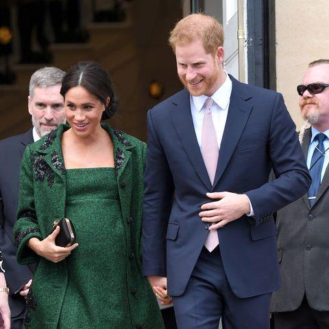 Meghan Markle,Meghan Markle embarazada,Meghan Markle look premamá,Meghan Markle look, Duquesa de Sussex, Príncipe Harry, Meghan Markle y el príncipe Harry, Día de la Commonwelth