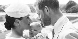 Meghan Markle y el príncipe Harry,Meghan Markle y el príncipe Harry hijo, Archie, Bautizo Archie,Meghan Markle y el príncipe Harry bautizo Archie