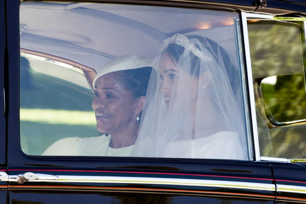 Meghan Markle and her mother.