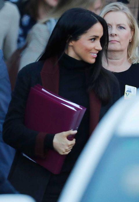 Meghan Markle embarazada aterriza en Sidney, Australia