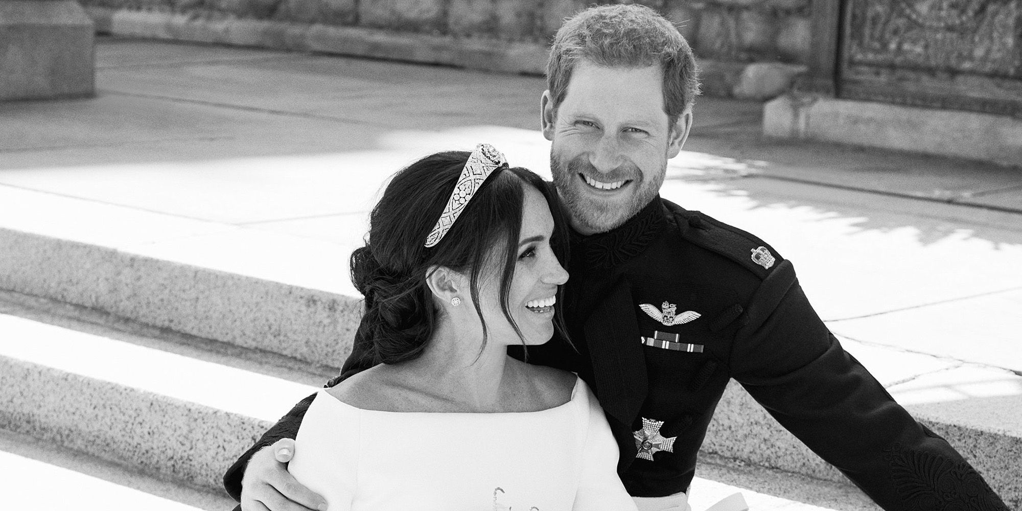 Meghan Markle & Prince Harry officiele trouwfoto's