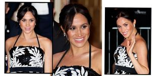 Meghan Markle at Royal Variety Performance | ELLE UK