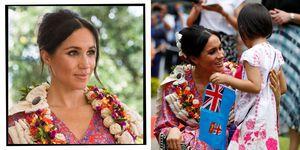 Meghan Markle On Royal Tour Of Fiji