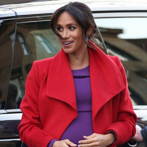 Meghan Markle y su look de embarazada más colorido