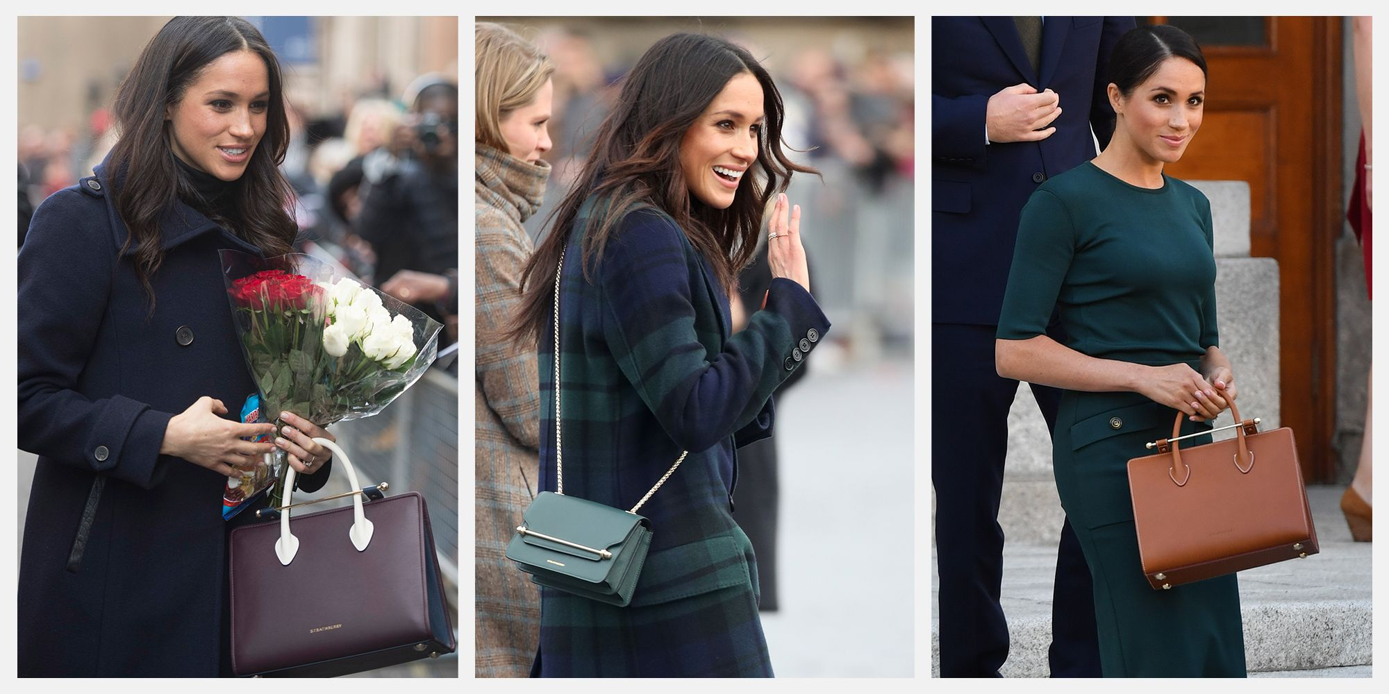 Meghan Markle's Favorite Strathberry Bags Are Back in Stock at Nordstrom