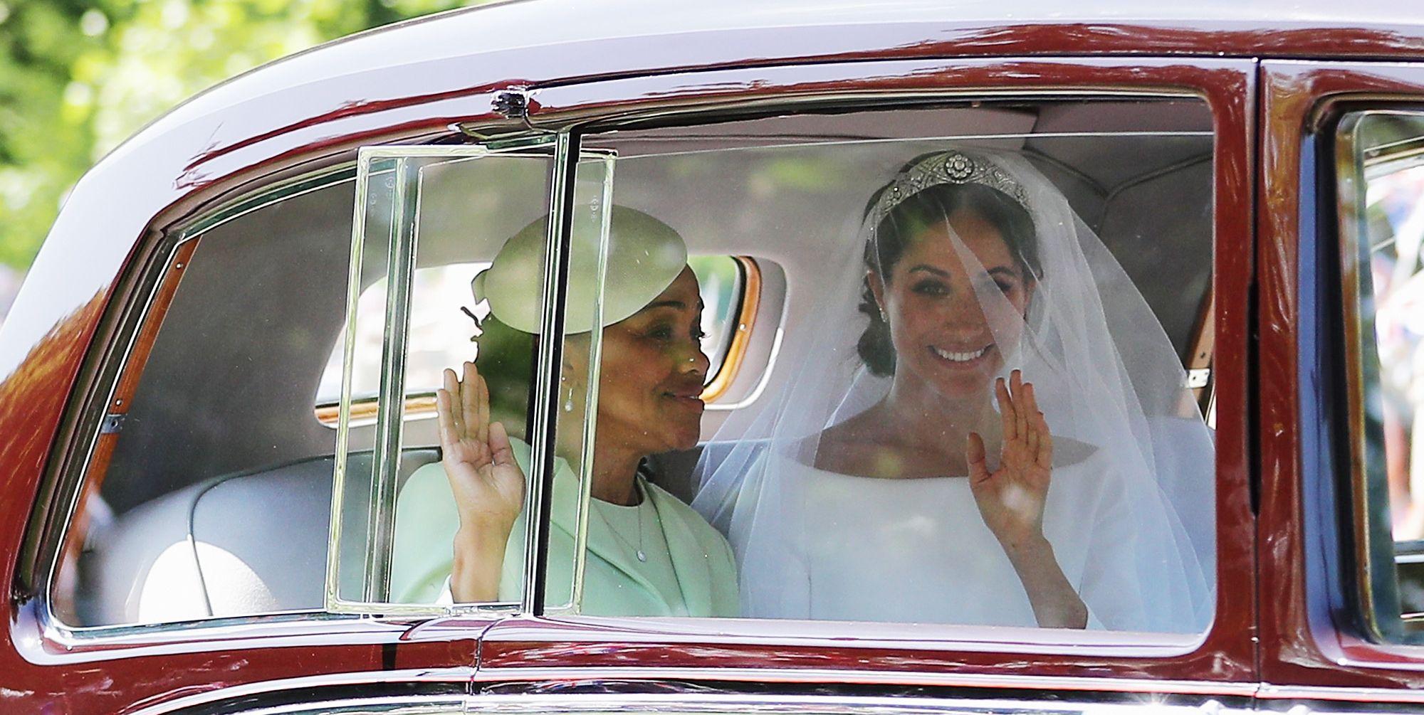 Il vestito da sposa di Meghan Markle è un capolavoro e lei è Diana 30 anni dopo
