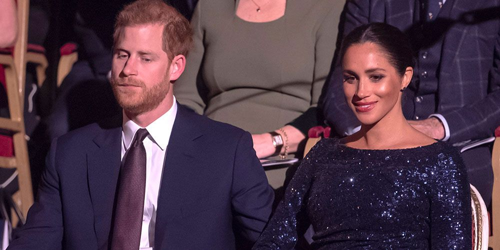 95540509 Meghan Markle wore a sequin dress to watch Cirque du Soleil with Prince  Harry