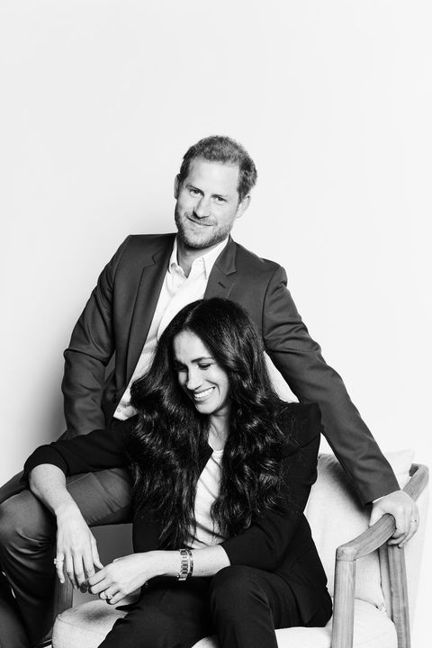Megan Markle Prince Harry new portrait