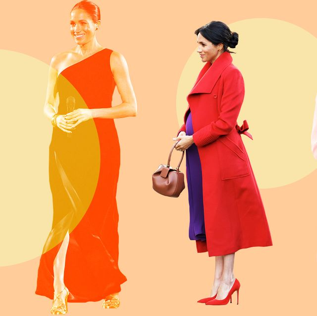 3caa1236ca20 Meghan Markle s Most Fashionable Pregnancy Style Looks - Duchess of ...