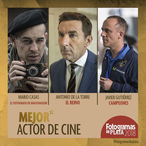 Nominados Fotogramas de Plata 2018