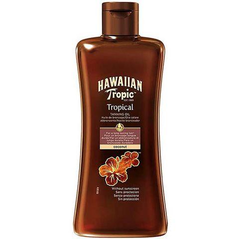 aceleradores bronceado hawaiian tropic