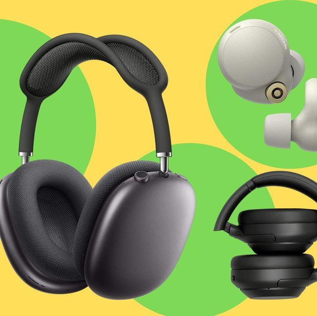 auriculares inalámbricos de las marcas sony, apple y sennheiser