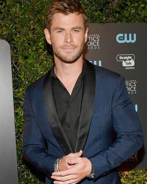 las mejores barbas de 2018 - Chris Hemsworth