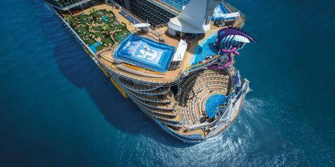 El Harmony of the Seas es, por el momento, el barco más grande del mundo
