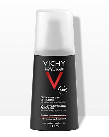 vichy - desodorantes de hombre que huelen a limpio