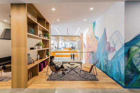 Gensler diseña las oficinas de las empresas donde todos quieren trabajar