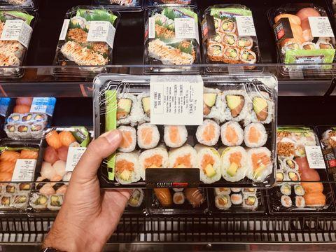Buscamos, catamos y evaluamos sushi de supermercado en Madrid -Este es el mejor sushi de supermercado