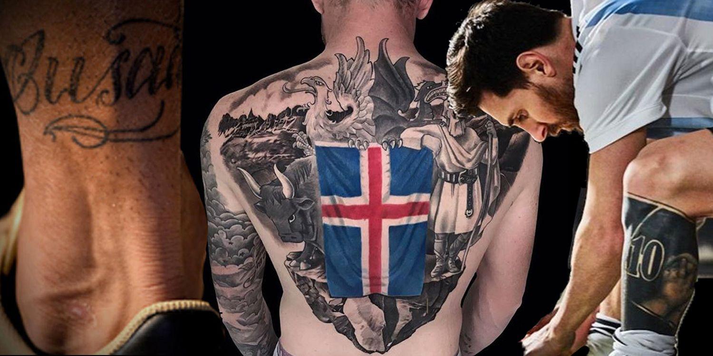 Los tatuajes más alucinantes de los futbolistas vistos en el