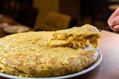 tortilla de patata del restaurante colósimo en madrid