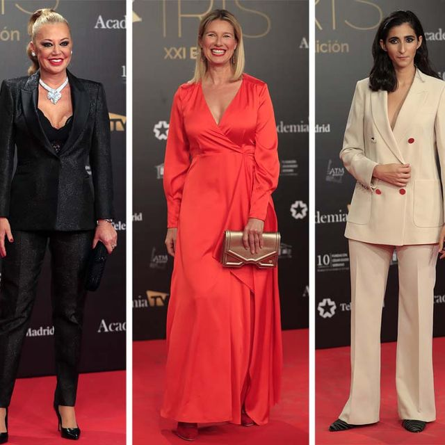 Mejor y peor vestidas premios Iris 2019