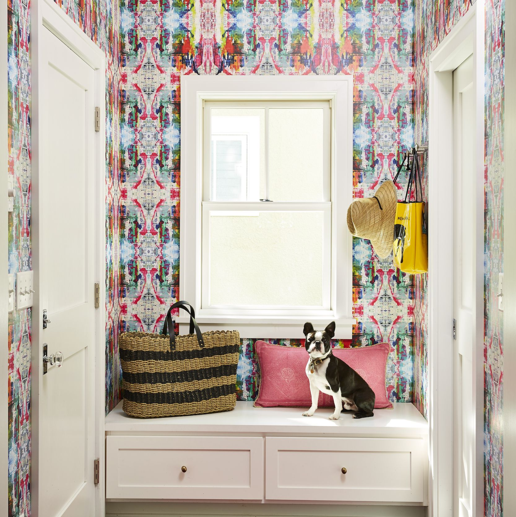 How Pops Of Color Transformed These Classic White Rooms