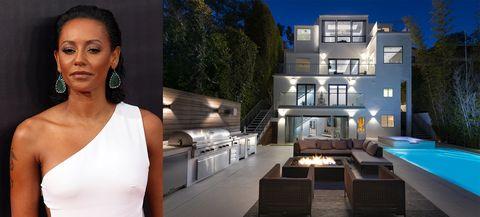 La Spice Girl Mel B vende su casa de Hollywood